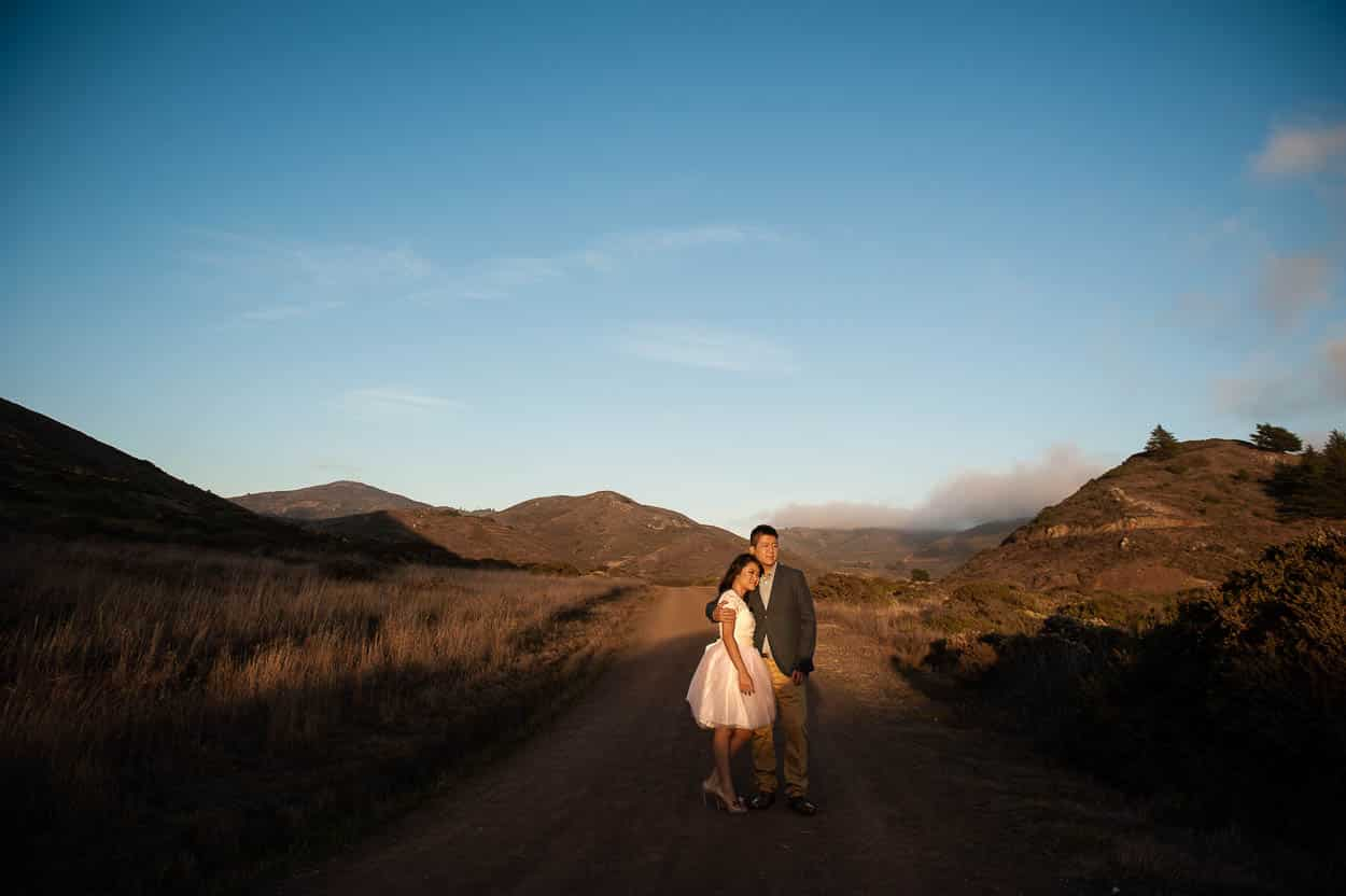 A Marin Headlands Engagement Session // Lucy and Andrew